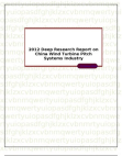 2012 Deep Research Report on China Wind Turbine Pitch Systems Industry