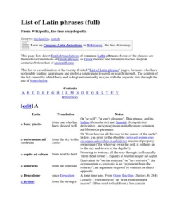 wiki List of Latin phrases (full)