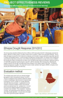 Effectiveness Review: Ethiopia Drought Response 2011/12
