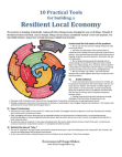 10 Practical Tools for a Resilient Local Economy
