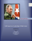 Leadership of Fidel Castro-LOD Project