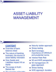 Asset liabilty management