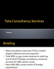 Derivatives and Risk: Tata Consulting Services (TCS)