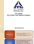 ITC Corporate Social Governance