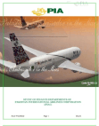 STUDY OF FINANCE DEPARTMENTS OF PAKISTAN INTERNATIONAL AIRLINES CORPORATION