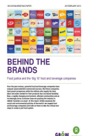 Behind the Brands: Food justice and the 'Big 10' food and beverage companies