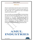 Project on Ink production-Amul Industry