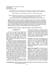 Project Study on Information Technology on Supply Chain Management