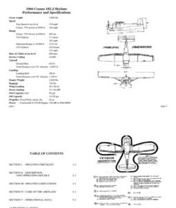 Cessna 182 Pilot Operating Handbook
