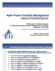 Study on Agile Project Portfolio Management