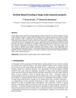 Research Paper on Activity Based Costing in Large Scale