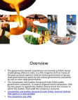 BBA 1 Public Sector Enterprises Overview