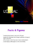 PRESENTATION ON LOREAL