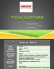 PRESENTATION ON TITAN WATCHES