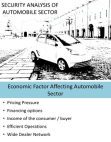 SECURITY ANALYSIS OF AUTOMOBILE SECTOR