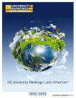 QS  Latin America University Rankings