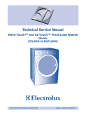 Electrolux EIFLW55H & EWFLW65H Front-Load Washer