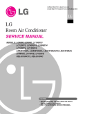 LG LC6000 6,000 BTU Slider Casement Room Air Conditioner Service Manual