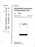 Bosch SHU SHI SHV Dishwasher 2001