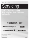 Frigidaire 2800 Series Dishwasher Service Manual