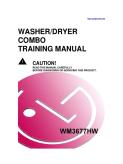 LG Washer Dryer Combo Training Manual