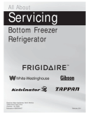 Frigidaire Bottom Freezer Refrigerator Service Manual