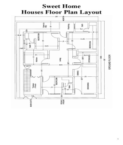 10 Marla House Plans | Joy Studio Design Gallery - Best Design