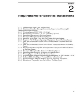 NEC Section 110_26 http://www.scribd.com/doc/29572316/Requirements-for-Electrical-Installations