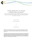 How healthy is your computer estate?