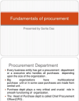 fundamentals of procurement