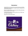 Marketing of Cadbury