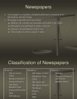 Newspapers ppt