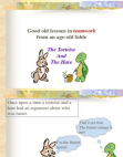teamwork lessons from Hare and tortoise