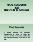 final accounts ppt