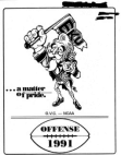 1991 Eastern Kentucky Colonels Offense 180 Pages