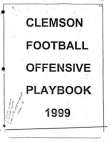 1999 Clemson Offense by Rich Rodriquez