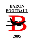 2005 Baron Splitback Offense  48 Pages