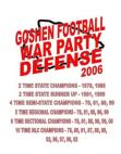 2006 Goshen Redskins HS 43 Defense  40 Pages