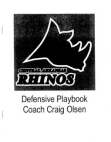 Central Arkansas Rhinos 43 Defense  46 Pages