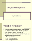 Project on Management