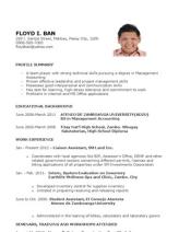 Sample Resume Newly Graduate Nurse Philippines