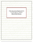 India Sourcing Report Home Furnishings & Textiles