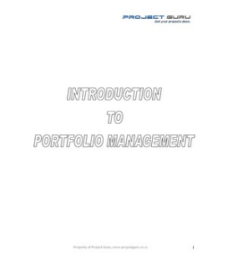 thesis on investment portfolio management One way to handle this balance is by managing research as a portfolio of investments together with parc's vp of unlike portfolio management approaches.