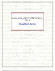Global Web Analytics Market 2011-2015