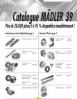 Catalogue MÄDLER 39 (FR)